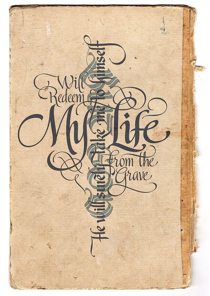 calligraphy...
