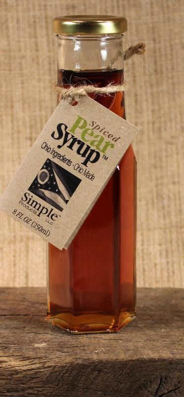 spiced pear syrup 8oz - Can You Freeze Pears