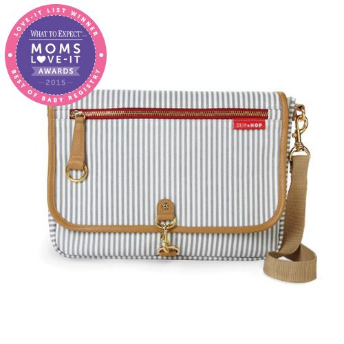Should I buy this? I'm thinking about getting the Skip Hop Soho Cross-Body Diaper Clutch - French Stripe. Would you recommend it? #LoveItList