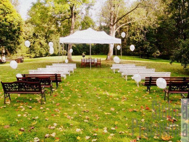 ślub plenerowy na łące