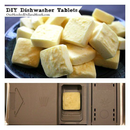DIY Dishwasher Tablets Recipe