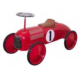 Speedster - Red Metal Ride-On Car