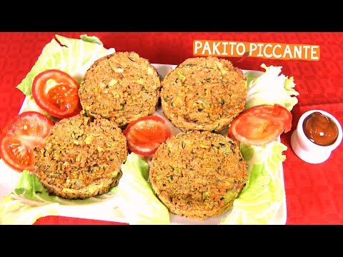 HAMBURGER VEGETALI FATTI IN CASA Buonissimi!!! • Ricetta di Pakitopiccante - YouTube