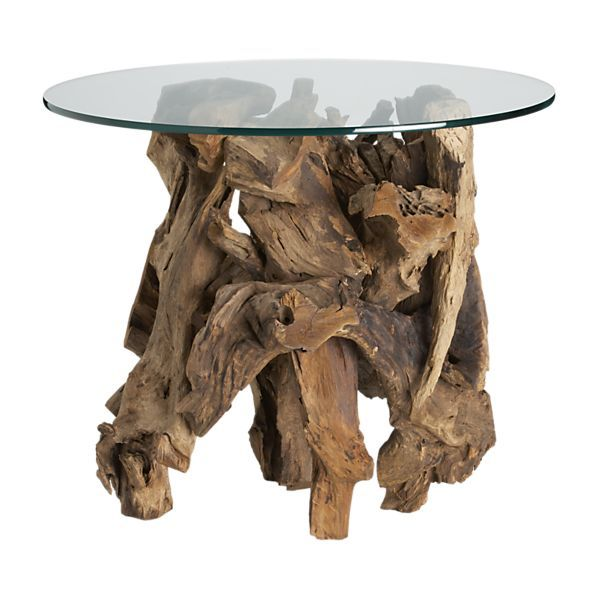 "OH my dear Mom - In the early 1960's she drug home some cypress stumps and driftwood from Medina Lake (Tx) and put glass on the top for coffee and end tables ... I thought they were hideous! I couldn't wait to grow up and have ""REAL"" furniture! Boy - I'm sure happy I still have one of those stumps!!"