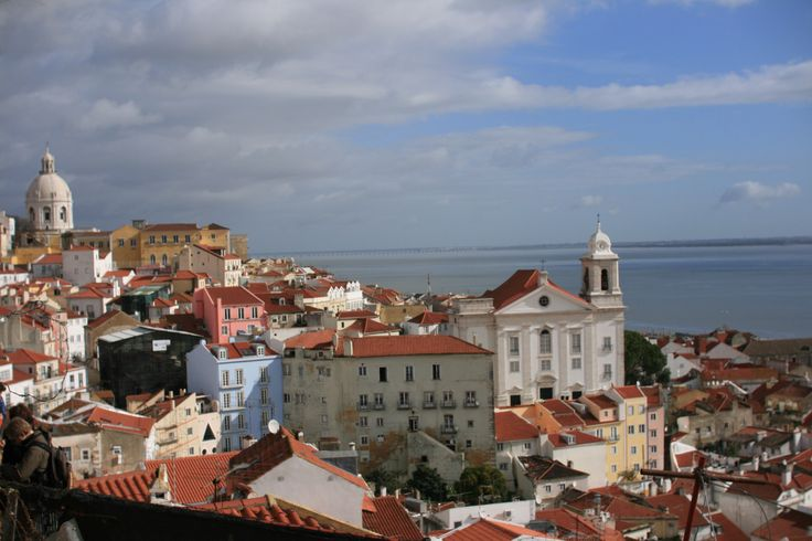 Lissabon im Januar -Fado