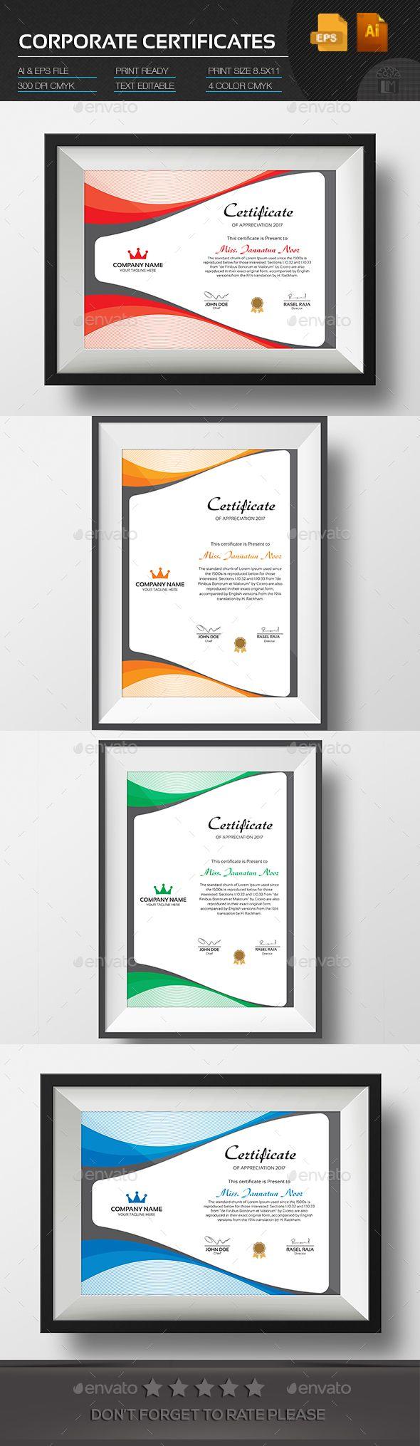The 25+ best Certificate design template ideas on Pinterest ...