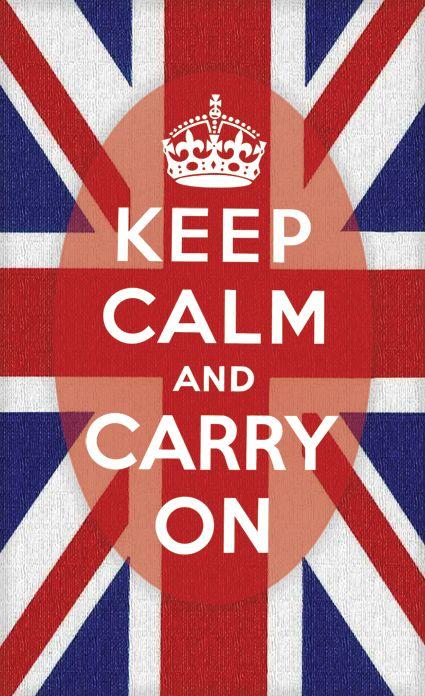 Needs no explanation. The original Keep Calm and Carry On.