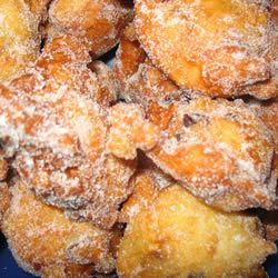 Olie Bollen This is a dutch recipe traditionally made for New Years donut hole, sometimes made with raisens.