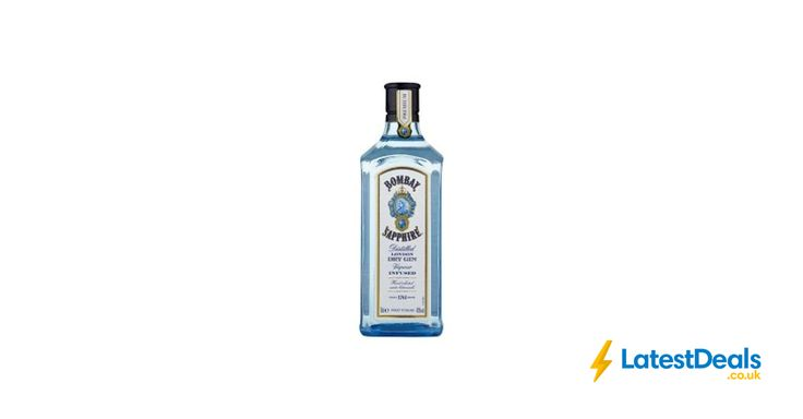 Bombay Sapphire Distilled London Dry Gin 70cl, £15 at ASDA