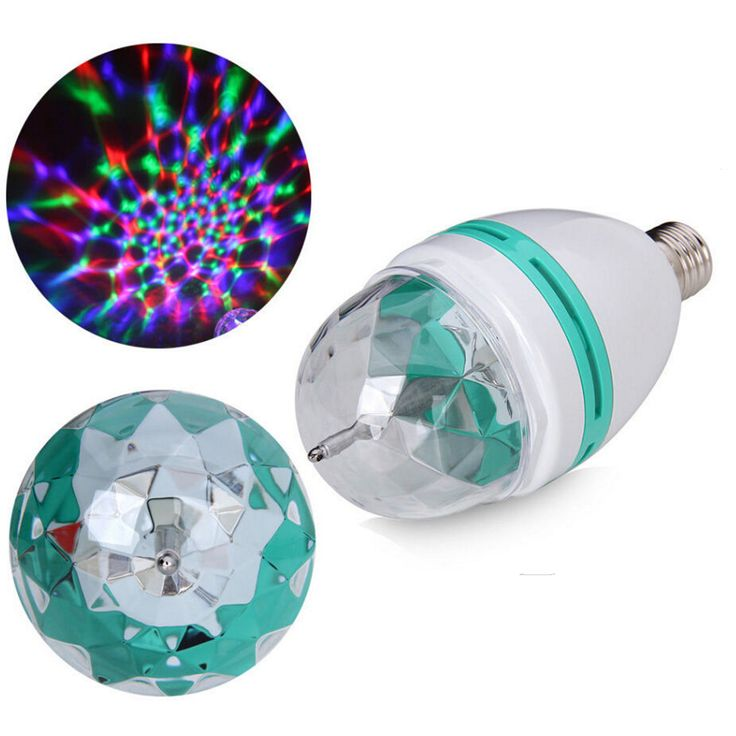 Multi-color Disco Light Bulb
