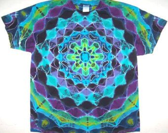 Free Shipping Handmade Hippie Bus Tie Dye Shirt by MNotez on Etsy