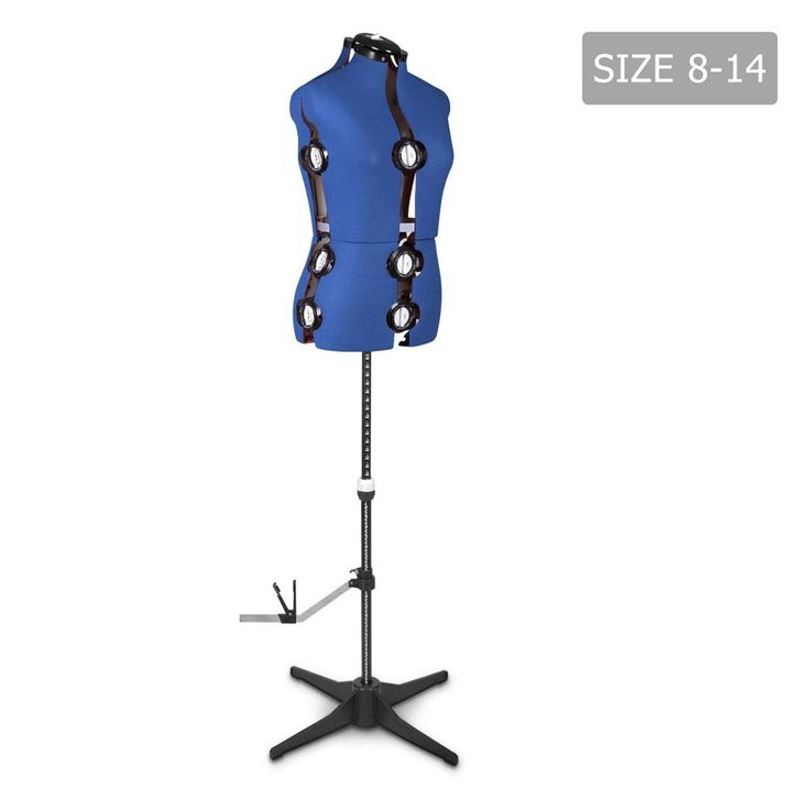 Adjustable Mannequin Cloth Display Tailor Dressmaker Blue MANNE-C-S0814-BLUE  #buynow #shippedfromaustralia #wevegotample #buyproductsnow #buyonline #ampled