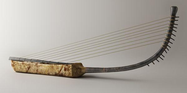 Ancient Egyptian Musical Instruments,  Metropolitan New York