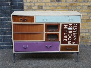 so vintage: Rupert Blanchard, Ideas, Old Drawers, Style, Homemade Furniture, Salvaged Drawers, Upcycling, Upcycled, Chest Of Drawers
