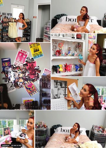 Room Style: Get Ariana Grande's Sweet, Girly Bedroom with These #DIY Tips!
