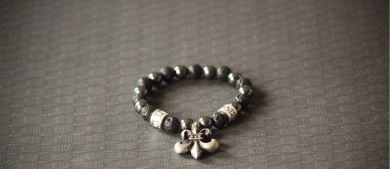 Charm Beaded Fashion Bracelet Bead Bracelet by BoogeJewellery, $59.00