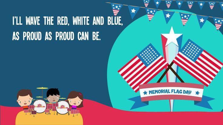 Memorial Day Song Lyrics for Kids |  Flag Song for Kids |  Children's Music