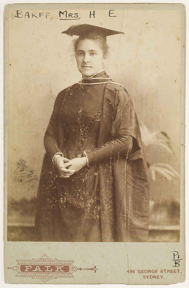 Jane Foss Barff, academic and educationist.