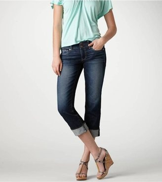 Artist Crop Jeans ($44.95) at American Eagle Outfitters. Spotted on Emma Robers