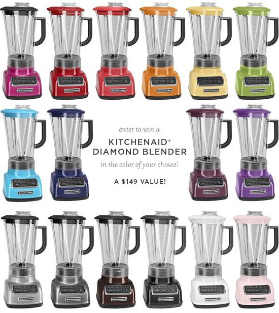 KitchenAid® Diamond-Series Blender Giveaway from @Lindsay Landis | Love and Olive Oil ends 12/11