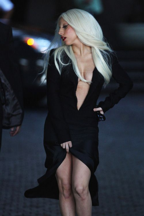 """L. Gaga... She definetly has her """"own"""" Style.."""