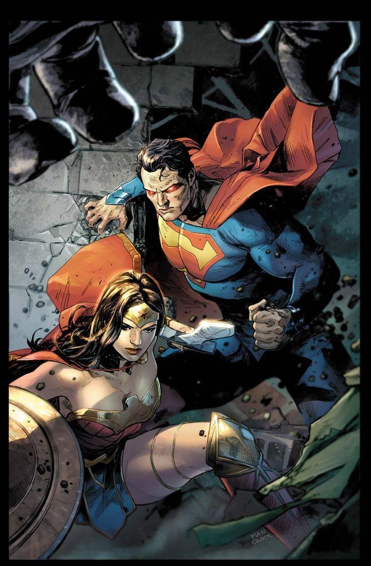Clay Mann - Superman and Wonder Woman