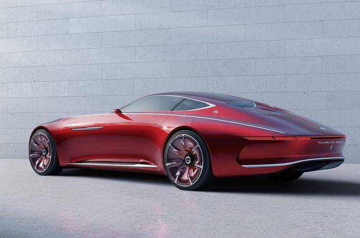 Vision Mercedes-Maybach 6 electrical car concept #car #electro #vision #concept