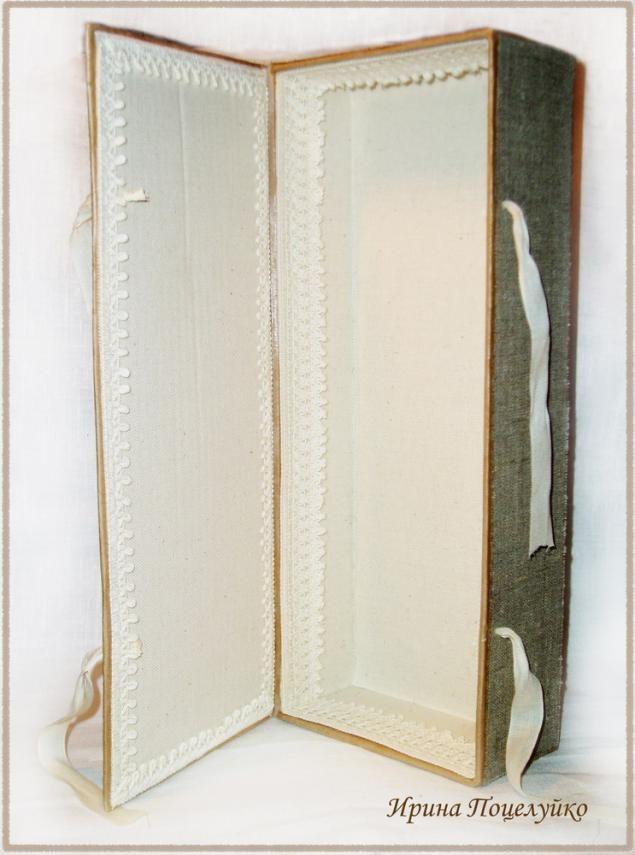 Коробка для куклы в эко стиле - Ярмарка Мастеров - ручная работа, handmade