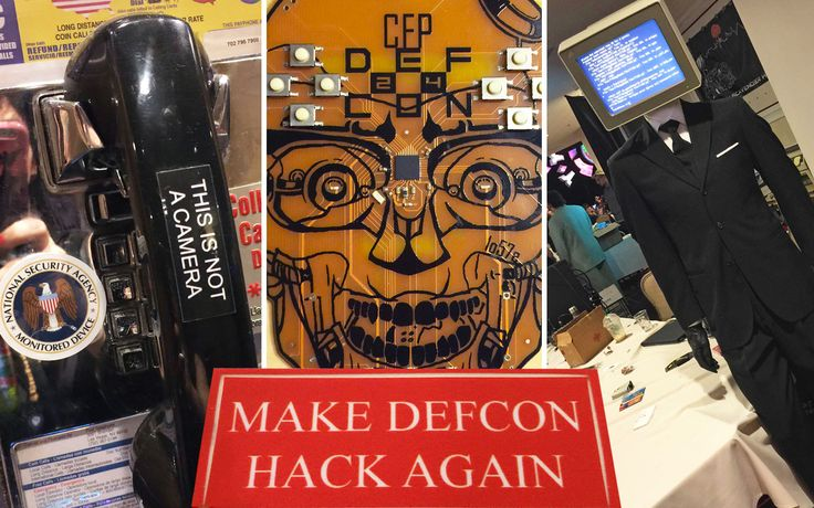 The hysterical hacking headlines of Def Con 24  You might've noticed that your regular news outlets have way more hysterical random-seeming and utterly terrifying articles about hacking this week. That's because hacking conference Def Con happened last weekend where a fair number of journalists... via Engadget Gadget News Tech News