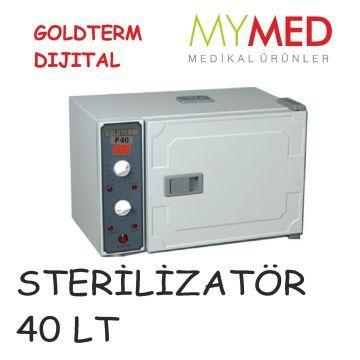 STERİLİZATÖR KURU HAVA 40 LT DIJITAL http://www.can-medikal.com/Sterilizatorler,LA_119-2.html