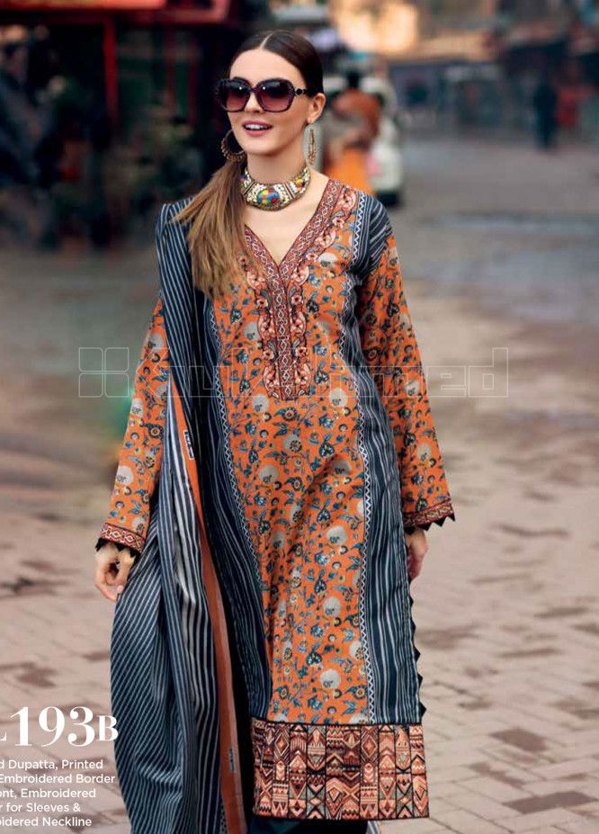 c39545145b Gul Ahmed Lawn Collection 2019: Gul Ahmed Summer Lawn Suits & Unstitched  Printed Chiffon Collection | Online Store Gul Ahmed Summer Formal Wear