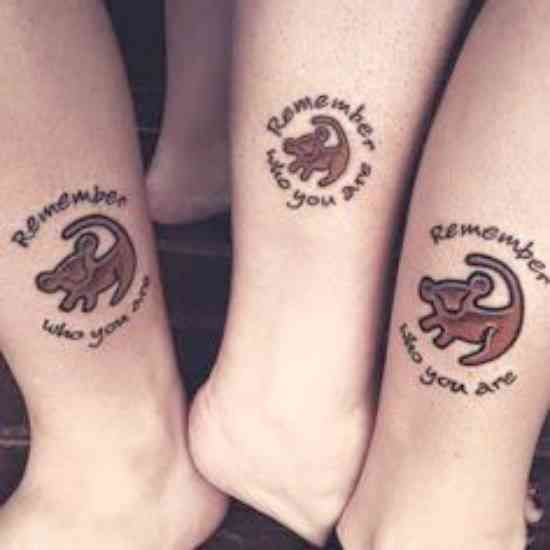 20 Disney Tattoos To Celebrate Your Magical Friendship