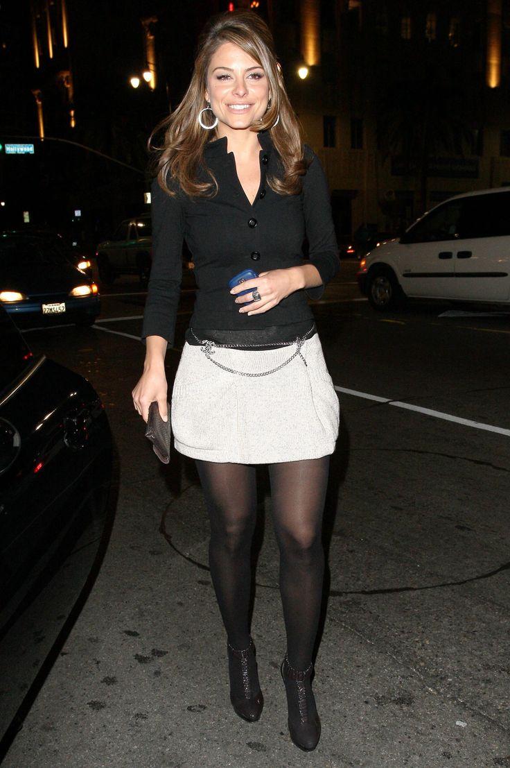 White Skirt Maria Menounos