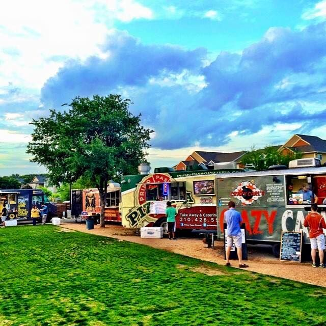 The Block In San Antonio Tx Food Truck Park And Patio