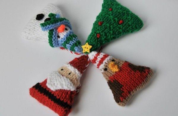 bastelideen f r weihnachten k nnen sie stricken weihnachtsdeko stricken bastelideen