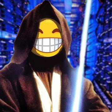 ¡Ríete un rato con los memes del Maestro Crypto Jedi!  ¡Y así te descargas de las malas energías acumuladas y las conviertes en Luz y Amor!