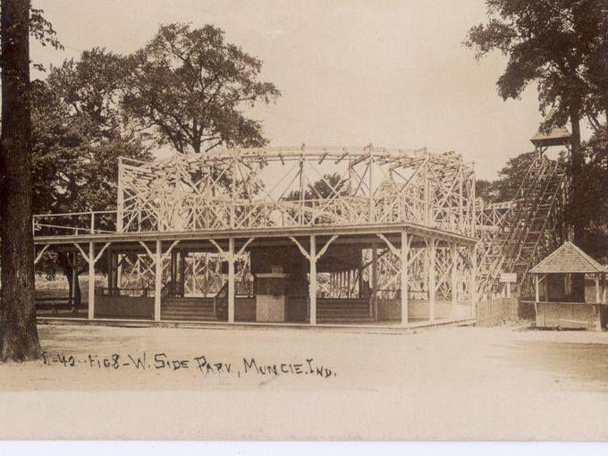 Westside Park, Muncie, Indiana 1910