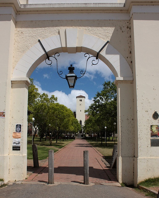 The Drostdy Gate, Grahamstown, South Africa by Kleinz1, via Flickr