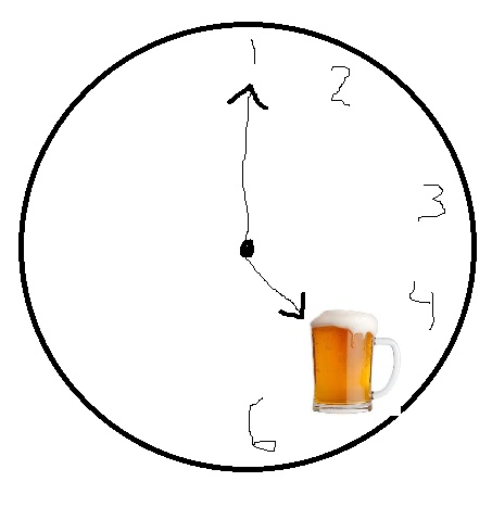 Beer O' Clock haphazardly created at 4:58pm