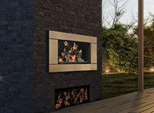 Escea EW5000 Outdoor Gas Fireplace
