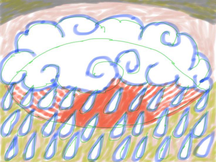 the sun thru the rain