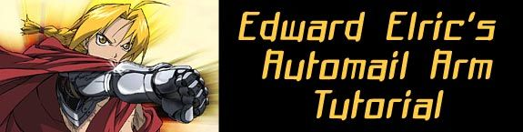 Amazing step-by-step tutorial on how to make Edward Elric's automail arm.  Very amazing and detailed!