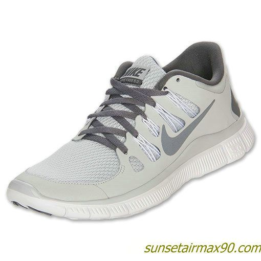 Nike Free 50 Womens Pure Platinum Cool Grey White 580591 001