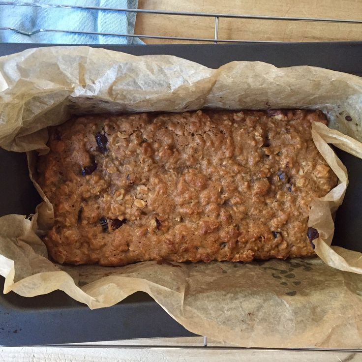 Oat, Seed and Date Bar whole