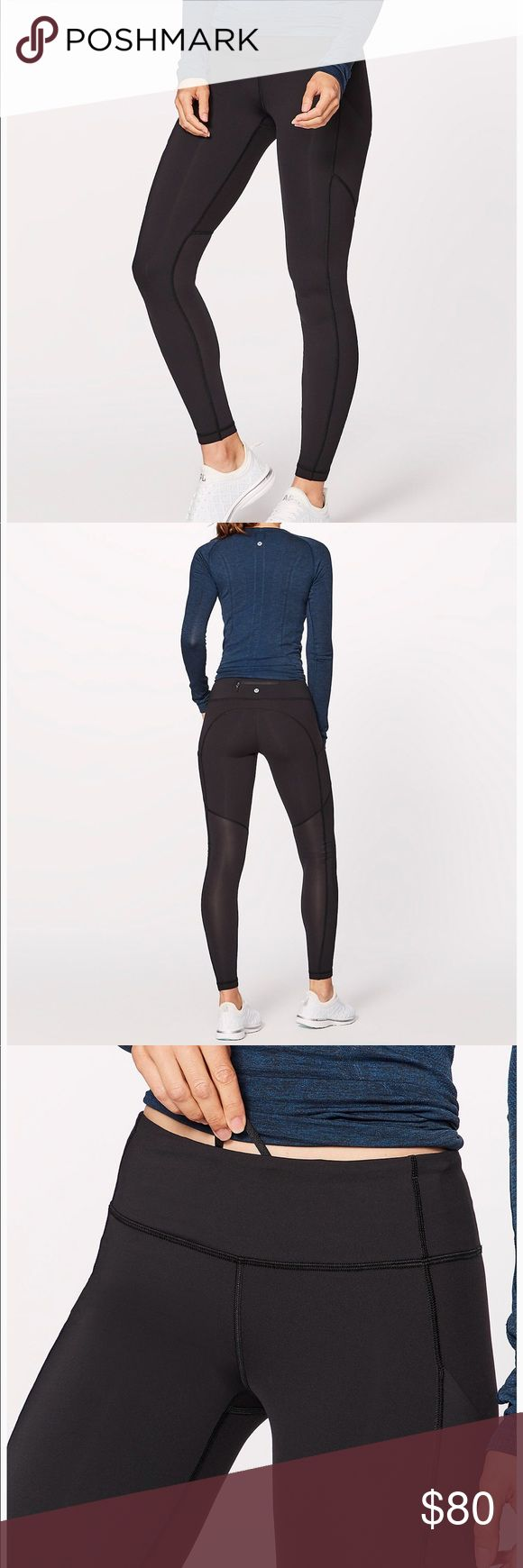 NWOT: Speed Tight V You've got a need for speed. The fifth iteration of our classic run tight features lightening-fast design lines and enough pockets to hold your gels, cards, and phone. No extra bells and whistles, just a pair of really great run tights. NOTE: UNWORN. Please only reasonable offers ONLY. lululemon athletica Pants Leggings