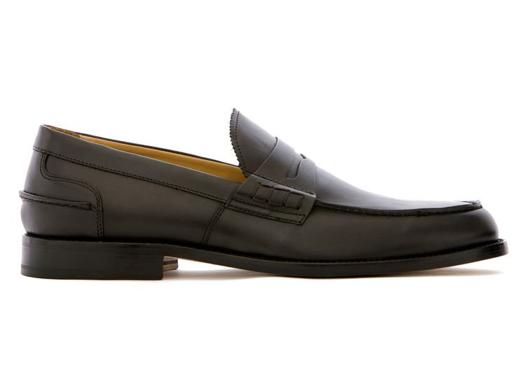 Black Loafers in Full Grain Leather - El Regolà - Velasca - Men's Fashion