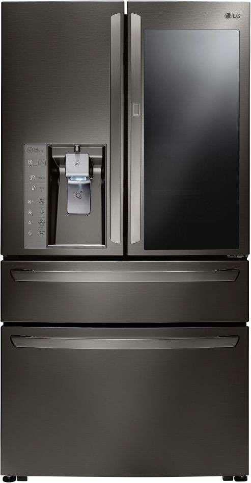Ft. Black Stainless Steel Counter Depth French Door Refrigerator   Energy  Star