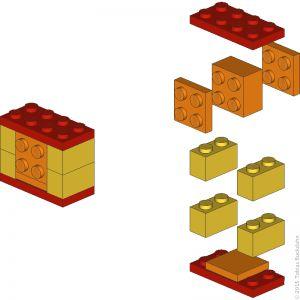 die besten 25 lego anleitung ideen auf pinterest lego lego ideen und lego bauen. Black Bedroom Furniture Sets. Home Design Ideas