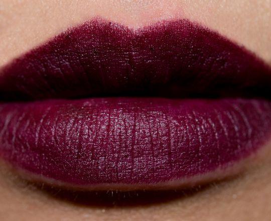 NARS Train Bleu Velvet Matte Lip Pencil - Temptalia Beauty Blog