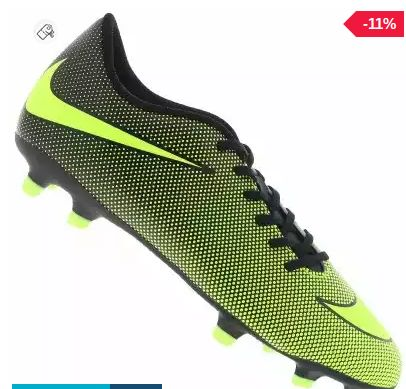 Chuteira de Campo Nike Bravata II FG - Adulto